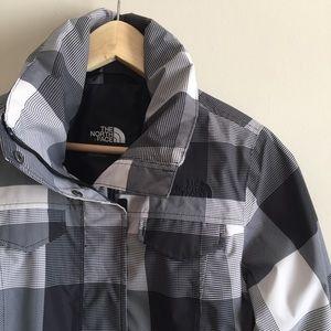 sale | the north face | plaid jacket